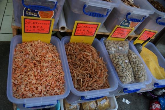 Peixe e Camarão seco / Died Fish and Shrimp