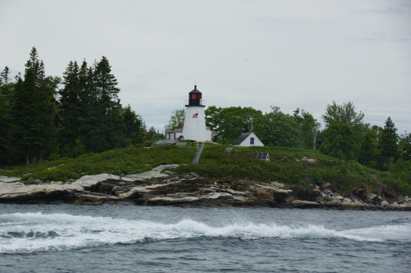 Primeiro farol da costa do Maine. Ano 1700 e pouco. First light house in Maine, around year 1700